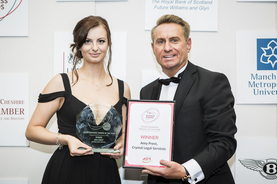 Chamber of Commerce Young Business Person of The Year Award 2015